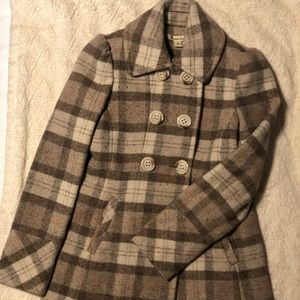 American rag double breasted coat